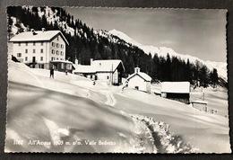 All Aqcua Valle Bedretto Skiläufer - TI Tessin