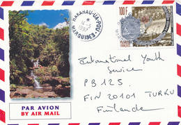 French Polynesia 1997 A Cover To Finland - Polynésie Française