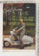 Moto Lambretta Gigi Villoresi Presidente Del Comitato Nazionale Lambretta Clubs No Vg - Moto
