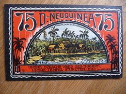 (3) 75 Pf. - Notgeld Amt Neustadt 1922 / D-NEUGUINEA. (UNC) - [11] Emissions Locales