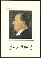 D439 Lot De 5 Documents Hommage Au Président François Mitterrand - Autres
