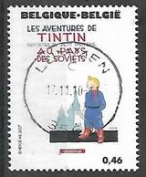 OCB Nr 3636 Tintin Kuifje Tim From Hergé Strip BD Comic Cartoon - Centrale Stempel - Gebraucht