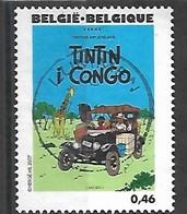 OCB Nr 3637 Tintin Kuifje Tim From Hergé Strip BD Comic Cartoon - Centrale Stempel - Gebraucht