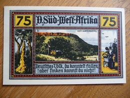 (3) 75 PfG. - Notgeld Amt Neustadt 1922 * D.SÜD-WEST-AFRIKA * (UNC) - [11] Emissions Locales
