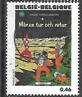 OCB Nr 3653 Tintin Kuifje Tim From Hergé Strip BD Comic Cartoon - Centrale Stempel - Gebraucht