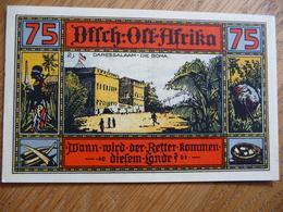 (3) 75 PfG. - Notgeld Amt Neustadt 1922 * AFRIKA * (UNC) - [11] Emissions Locales