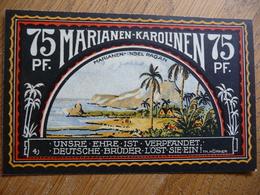 (3) 75 Pf. - Notgeld Amt Neustadt 1922 * MARIANEN- KAROLINEN * (UNC) - [11] Emissions Locales