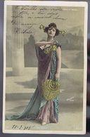 Artiste 1900- Deleka - Photo Walery - Colorisée - Opéra