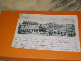 CARTE POSTALE PARIS PALAIS ROYAL 1901 - Other Monuments
