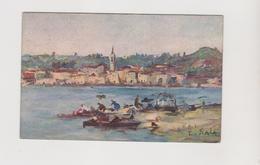 Arona (NO), Illustrata E. Sala - F.p. - Anni '1910 - Novara