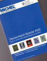 MICHEL Teil 2 Briefmarken Spezial Katalog 2020 New 90€ Deutschland Bizone Saar SBZ DDR Berlin BRD Catalogue Germany - Philatélie