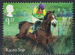 Royaume Uni 2017 Used Racehorse Kauto Star Cheval De Course - Nuevos