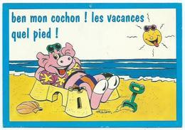 Ben Mon Cochon Signée Matem - Humor