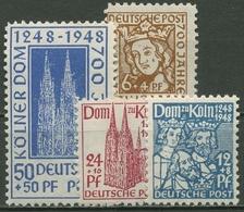 Bizone 1948 Kölner Dom 69/72 Mit Falz - Bizone