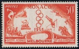 MONACO J.O. Melbourne N° 443 - Sommer 1956: Melbourne