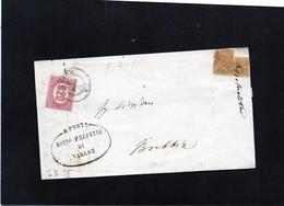 CG32 - Lettera Da Varese Per Brebbia 7/2/1875 - Marcophilia