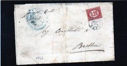 CG32 - Lettera Da  Gavirate Per Brebbia 8/2/1876 - Marcophilia