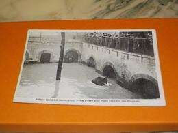 CARTE POSTALE  PARIS  LA FOSSE AUX OURSE JARDIN DES PLANTES  1910 - Paris Flood, 1910