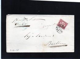 CG32 - Lettera Da  Gavirate Per Brebbia 9/10/1875 - Marcophilia