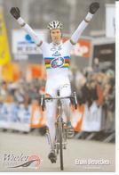 Cyclisme, Erwin Vervecken - Cyclisme