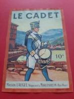 ETIQUETTE DECOLLEE ANCIENNE / LE CADET 10° / MAISON LAUGEL MARLENHEIM ( B . Rh ) - Collections, Lots & Séries