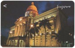 SINGAPORE B-830 Magnetic SingTel - Architecture, Historic Building - 174SIGA - Used - Singapour