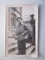 4 Photos D'un Soldat Dépôt Du 10e Génie à Besançon 1939 - Vareuse Modèle 20 - SOUVENIR DE LA GUERRE 1939.19... - Autres Communes