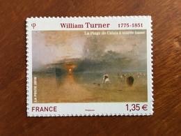 ADHESIF DE FEUILLE - 2010 - WILLIAM TURNER Y&T 402 - 1,35€ - Neuf ** - France