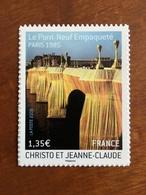 ADHESIF DE FEUILLE - 2009 - CHRISTO ET JEANNE CLAUDE Y&T 338 - 1,35€ - Neuf ** - France