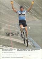Cyclisme, Patrick Sercu - Cyclisme