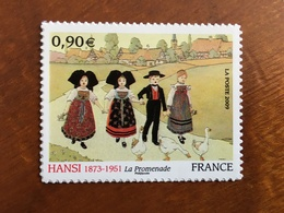 ADHESIF DE FEUILLE - 2009 - HANSI LA PROMENADE Y&T 370 - 0,90€ - Neuf ** - France