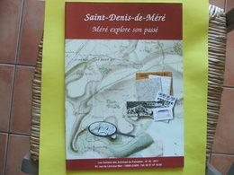 Saint-denis-de-méré Explore Son Passé Cahiers Archives Départementales Calvados N°45 2011 - Storia