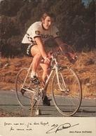 Postcard Jean-Pierre Guitard -  Peugeot-BP - 1973 - Ciclismo