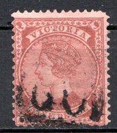 VICTORIA - (Colonie Britannique) - 1873-76 - N° 67 - 9 P. Lie-de-vin S. Rose - (Filigrane : 10) - (Victoria)) - Oblitérés
