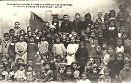 CORSE  -  BONIFACIO - GROUPE-SOUVENIR DES ENFANTS DU CATECHISME - Cliché G. Olivi - Frankreich