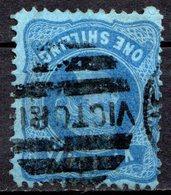 VICTORIA - (Colonie Britannique) - 1874-81 - N° 74 - 1 S. Bleu S. Bleu - (Victoria)) - Used Stamps