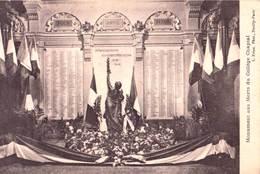 CPA  : Paris 8 ème (75) Monument Aux Morts Du Collège Chaptal,  Bd Des Batignoles - Enseignement, Ecoles Et Universités