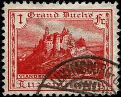 Luxembourg, Luxemburg 1921 Vianden 1Fr. Oblitéré, Michel:134 - Luxembourg
