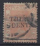 "MALAYA..."" STRAITS SETTLEMENTS ""...QUEEN VICTORIA...(1837-01).....SG87.......USED... - Straits Settlements"