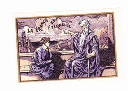 Vignette Militaire Delandre - Patriotique - La France Est éternelle - Vignettes Militaires