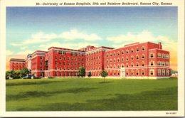 Kansas Kansas City University Of Kansas Hospitals Curteich - Kansas City – Kansas