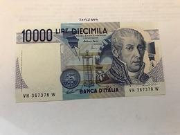 Italy Volta Uncirculated Banknote 1984 #18 - [ 2] 1946-… : Républic