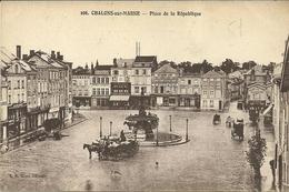 CHALONS SUR MARNE  -- Place De La République           -- A B C 106 - Châlons-sur-Marne