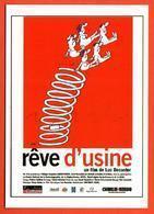 Carte Postale : Rêve D'usine (cinéma - Affiche - Film) Illustration : Siné - Sine