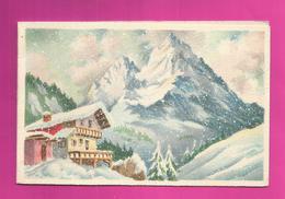 CP Double - BARRE-DAYEZ N° 12446 D Chalet De Montagne - Barday