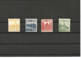 ЕХ-М-20-04-85  4 MINT STAMPS. - 1912-1949 Republic