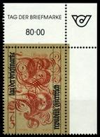 ÖSTERREICH 1991 Nr 2032 Postfrisch ECKE-ORE X6ED0E2 - 1945-.... 2ª República