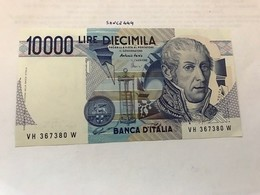 Italy Volta Uncirculated Banknote 10000 Lira 1984 #22 - [ 2] 1946-… : Républic