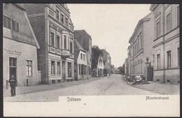 AK Dülmen Bei Coesfeld Münsterstrasse Verlag Sievert  (20360 - Ohne Zuordnung