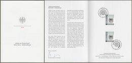 """Bund: Minister Card - Ministerkarte Typ VII , Mi-Nr. 3400 ESST: """" Design Aus Deutschland - Weltempfänger """" !   X - [7] République Fédérale"""